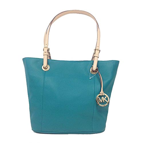 Michael Kors Jet Set Leather Tote Aqua # 38F2CTTT7L