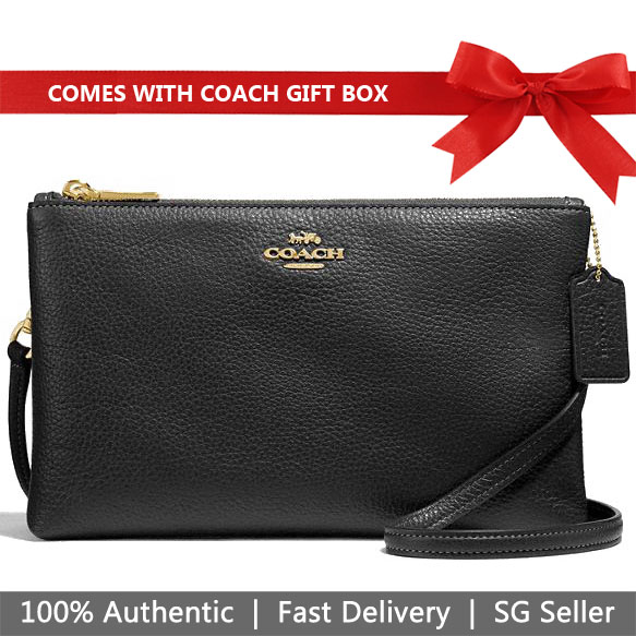 Coach Crossbody Bag In Gift Box Lyla Crossbody Black # F34265
