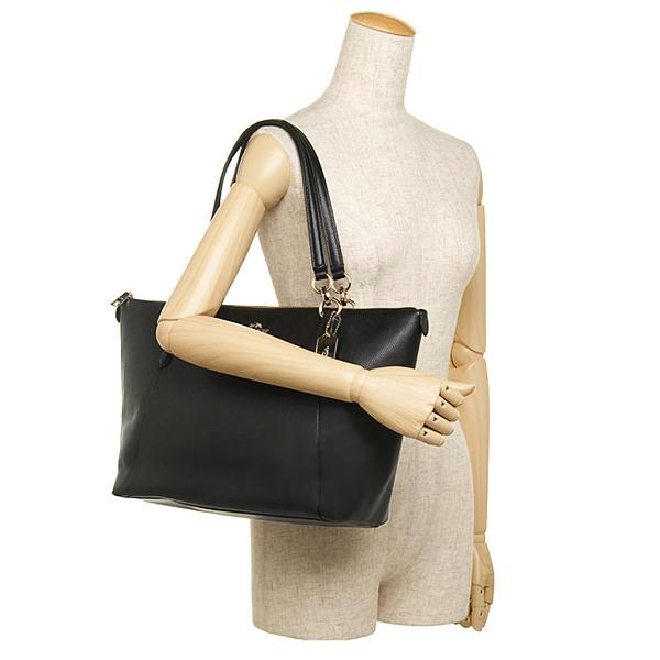 SpreeSuki - Coach Crossgrain Ava Tote Shoulder Bag Black   F35808 f0ff063395560