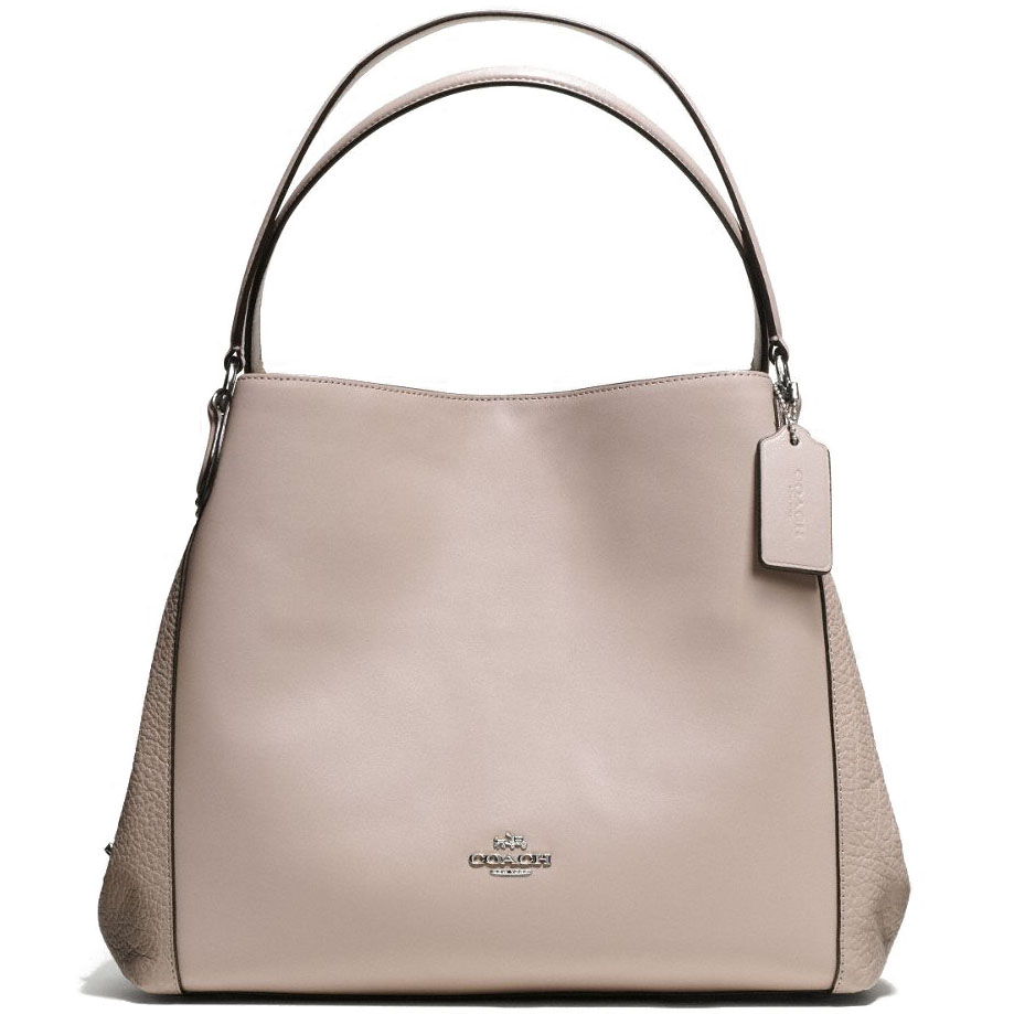 Coach Edie Shoulder Bag 31 Grey Birch # 55529