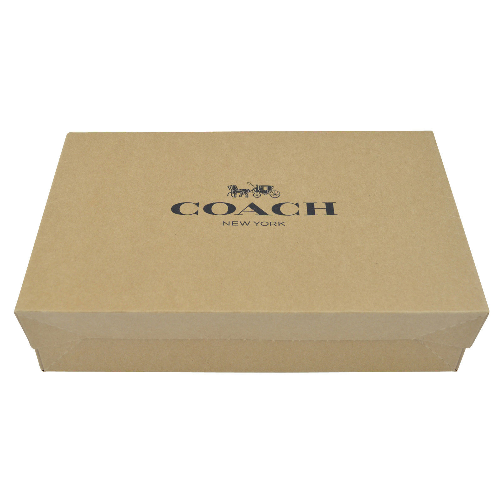 Coach Medium Gift Box For Wallets, Wristlets White # GB3