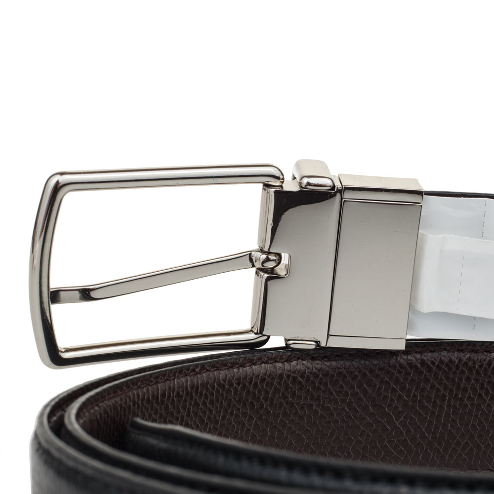 f59f25075d92 Coach Men Modern Harness Cut-To-Size Reversible Smooth Leather Belt Black    Dark