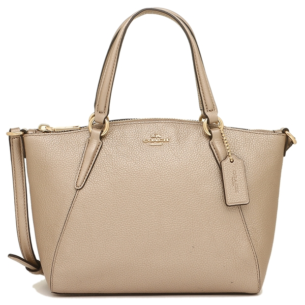 Coach Mini Kelsey Satchel In Metallic Pebble Leather Platinum / Gold # F22316