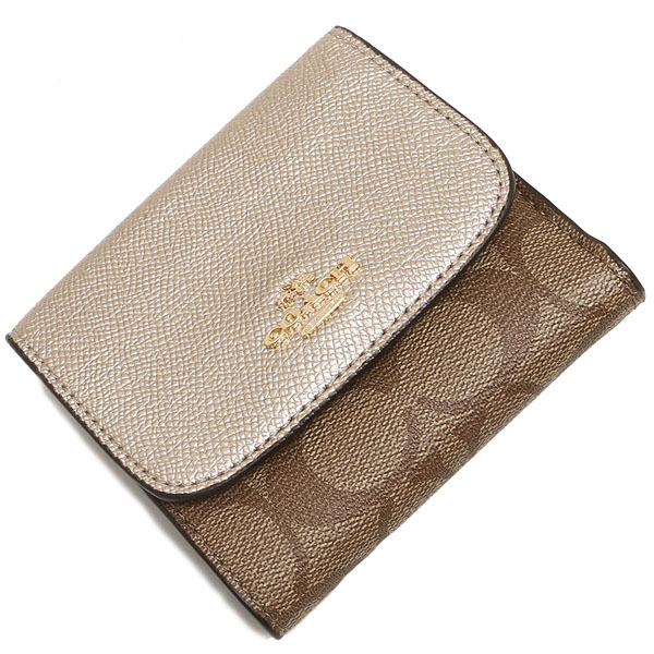 wholesale dealer 2013e 9b301 SpreeSuki - Coach Small Wallet In Signature Coated Canvas ...