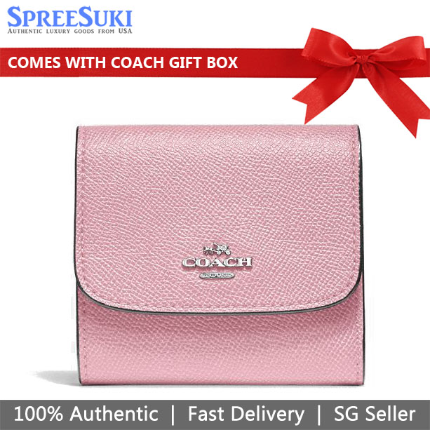 Coach Small Wallet Carnation Pink # F87588