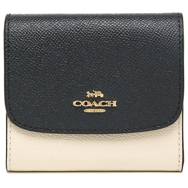 Coach Small Wallet In Colorblock Im / Blush Terracotte # F26458
