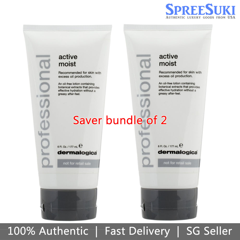 Dermalogica Active Moist Saver Bundle Of 2 177ml / 6oz
