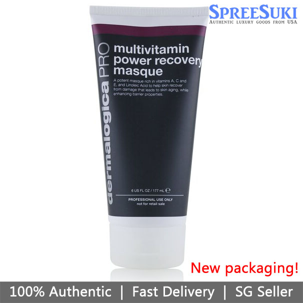 Dermalogica Age Smart Multivitamin Power Recovery Masque Black Packaging 177ml / 6oz
