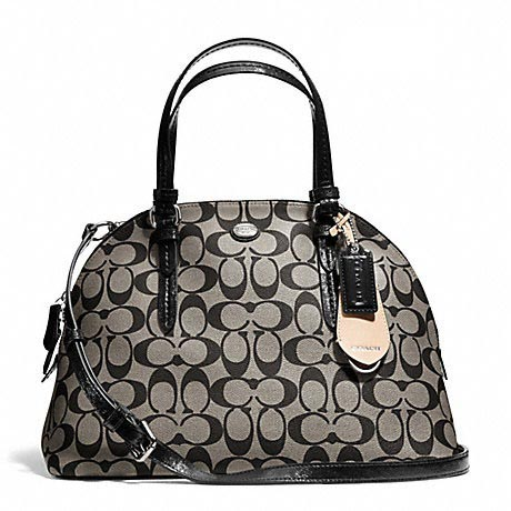 Peyton Signature Cora Domed Satchel