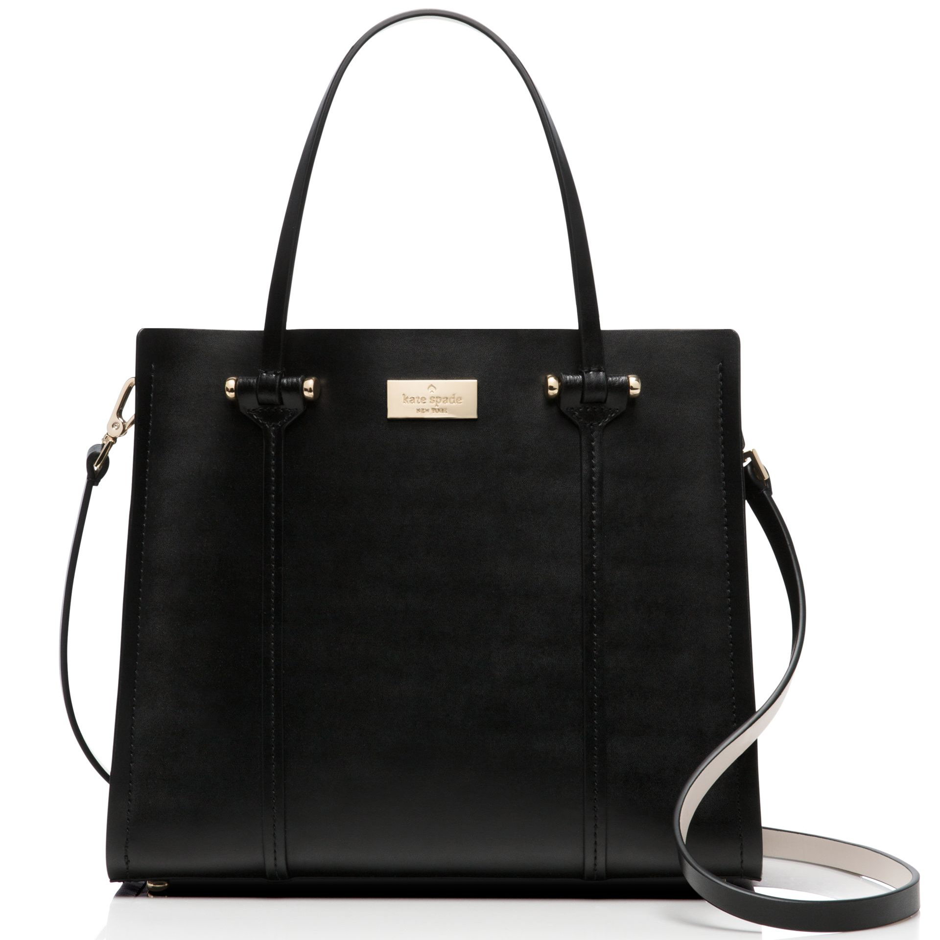 Kate Spade Arbour Hill Small Elodie Crossbody Shoulder Bag Black # WKRU3036