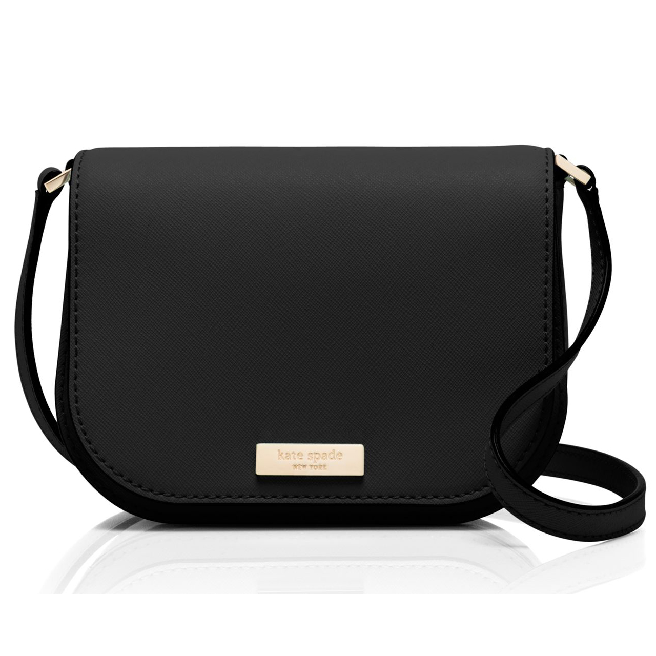 Kate Spade Newbury Lane Carsen Crossbody Black # WKRU3817