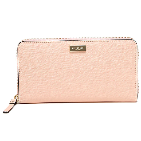 Kate Spade Newbury Lane Neda Zip Around Continental Long Sftrosetta # WLRU1498