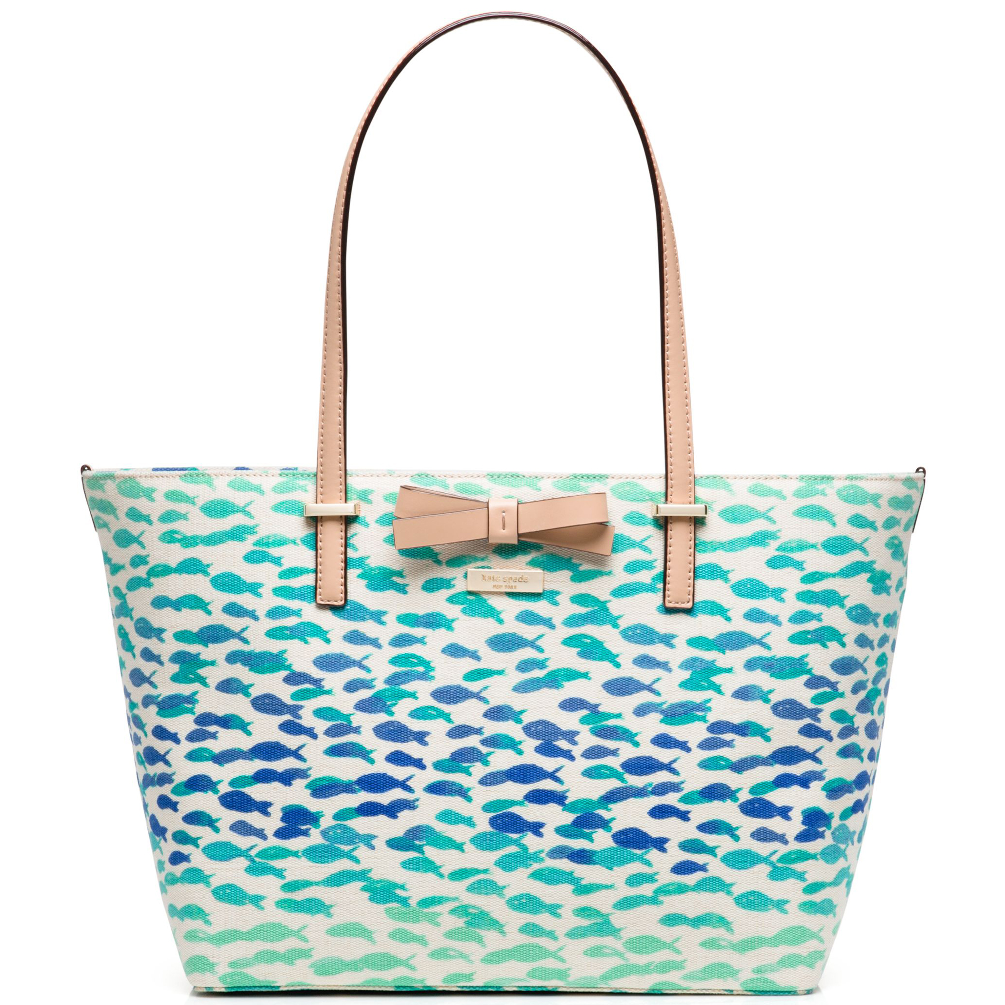 Kate Spade South Poplar Street Francis Tote Handbag Plenty Of Fish # WKRU3145