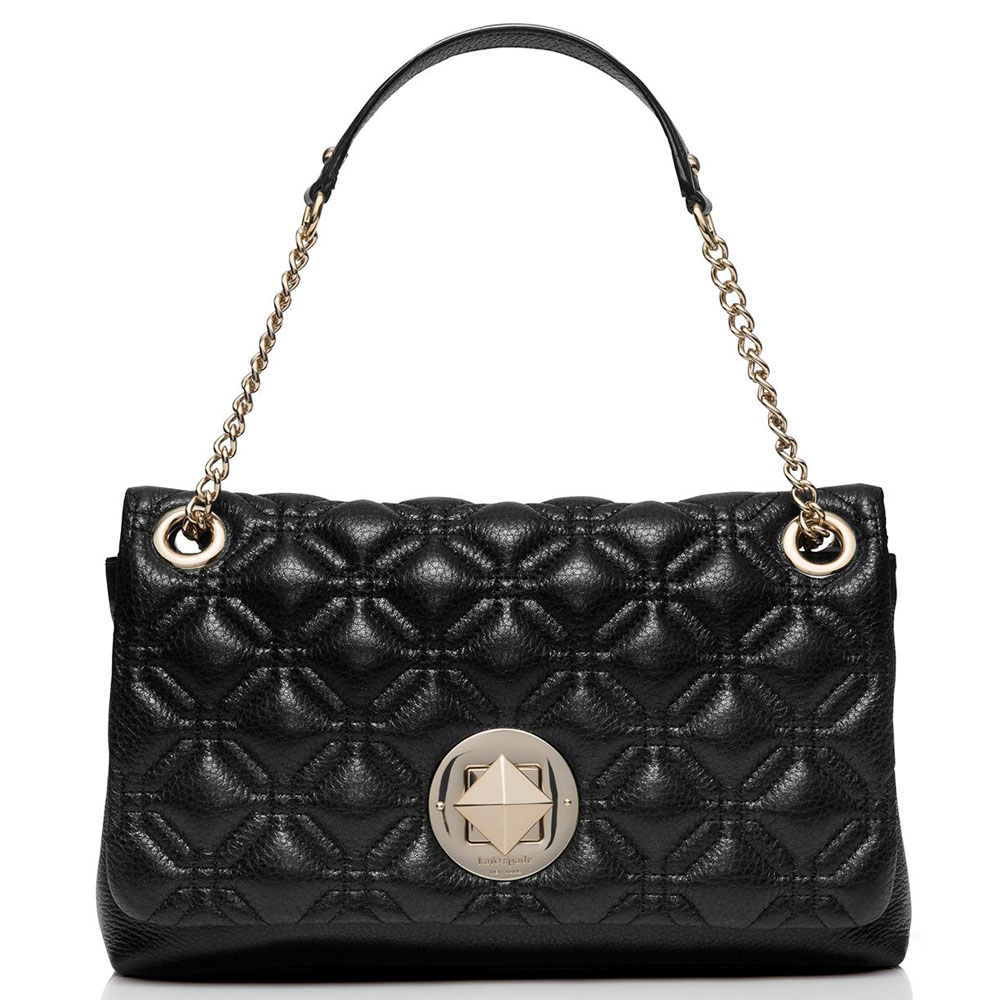 Kate Spade Astor Court Cynthia Shoulder Bag Black # WKRU3571