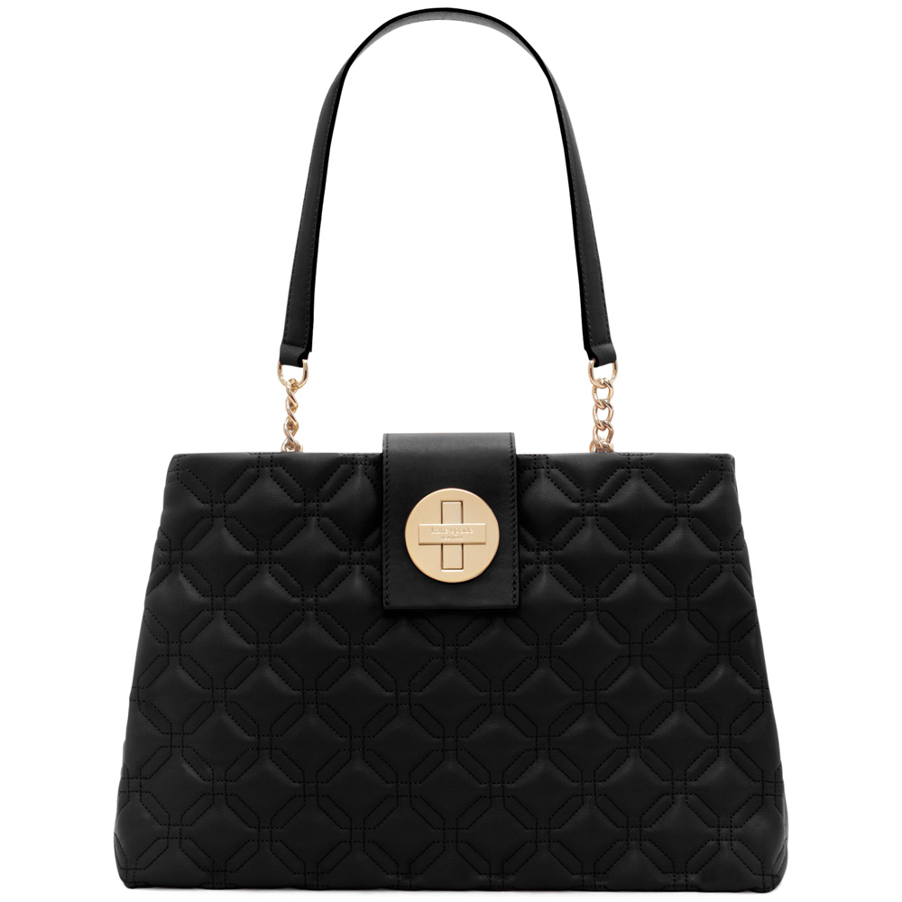 Kate Spade Astor Court Elena Shoulder Bag Black # WKRU3574