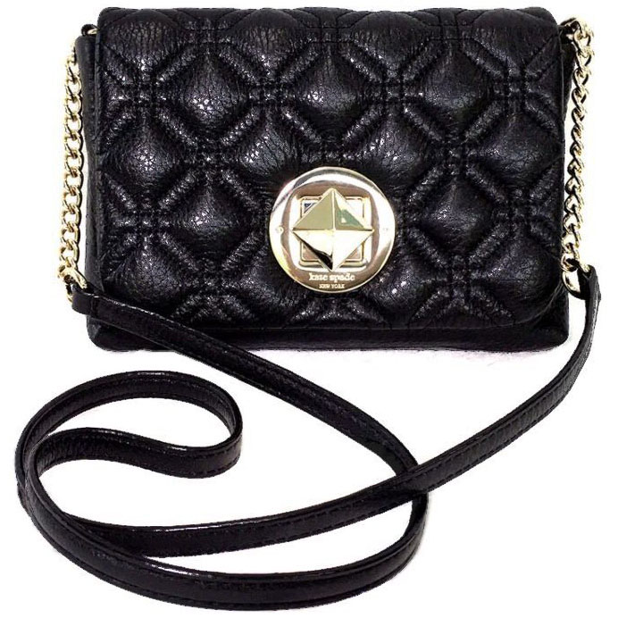 Kate Spade Astor Court Naomi Crossbody Bag Black # WKRU3570