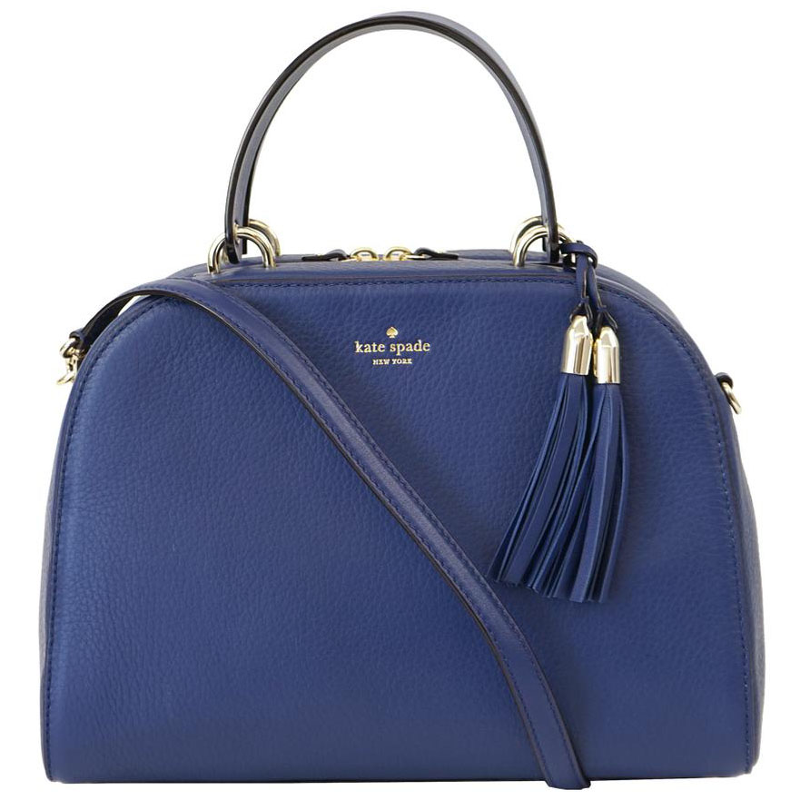 Kate Spade Atwood Place Bayley Satchel Crossbody Bag Oceanic Blue # WKRU4429