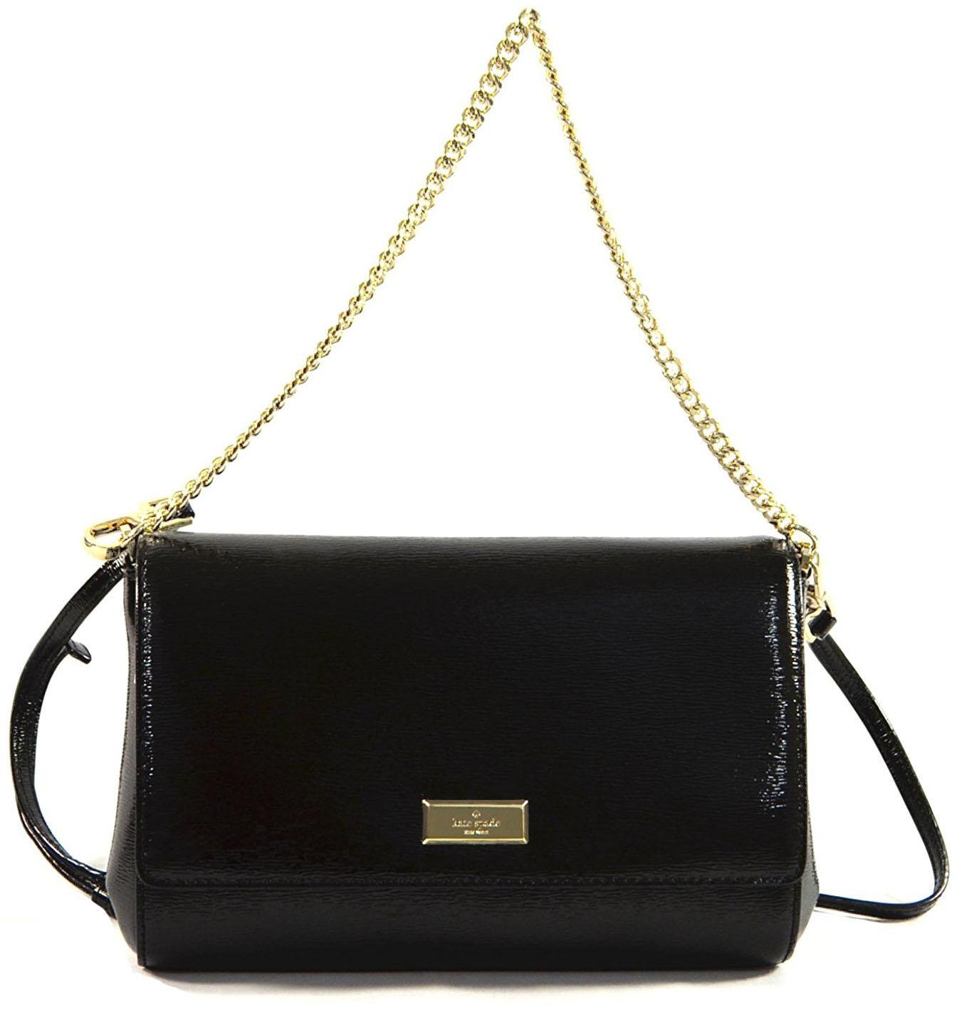 Kate Spade Bixby Place Greer Crossbody Bag Black Wkru4059