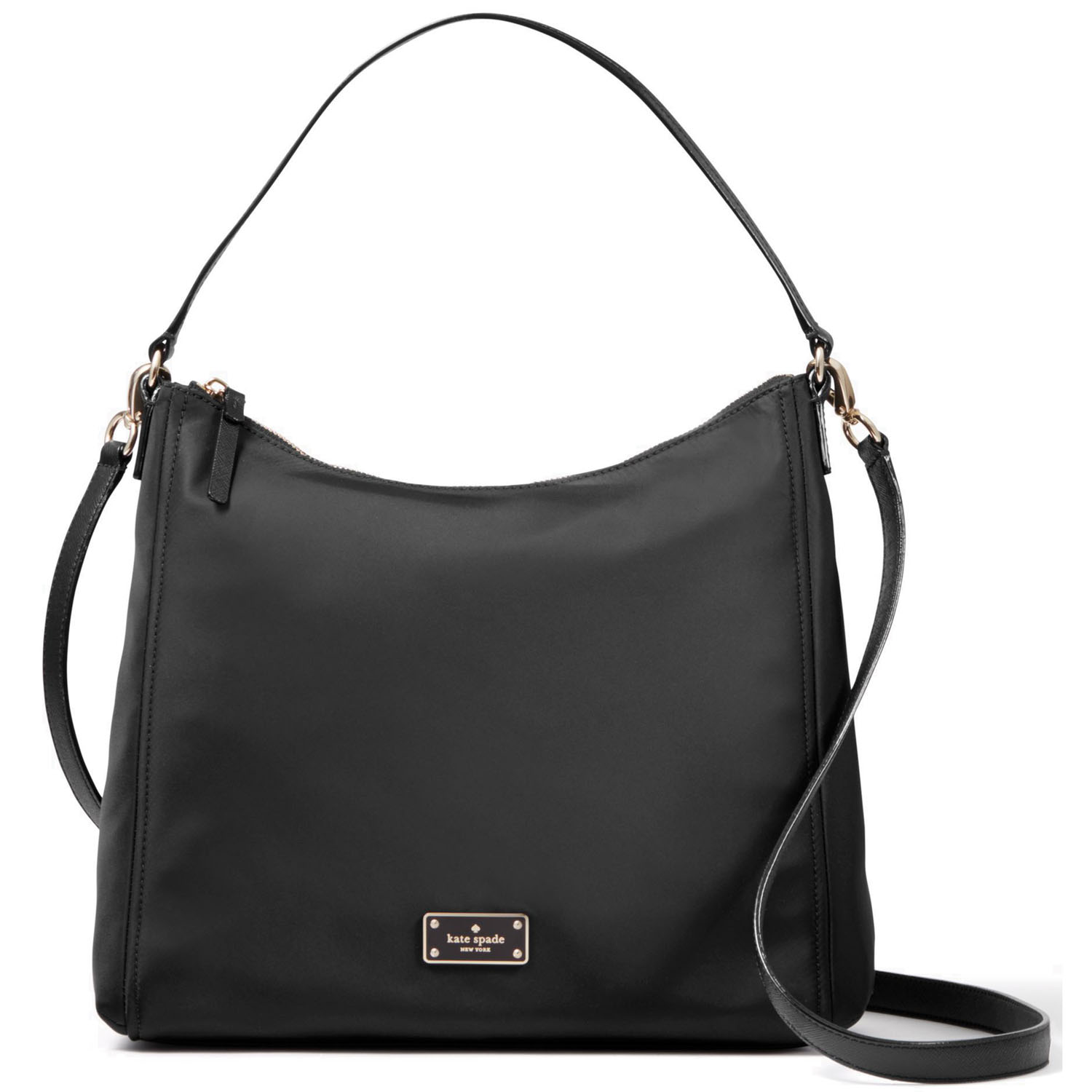 Kate Spade Black Avenue Justyne Crossbody Bag Black # WKRU4060