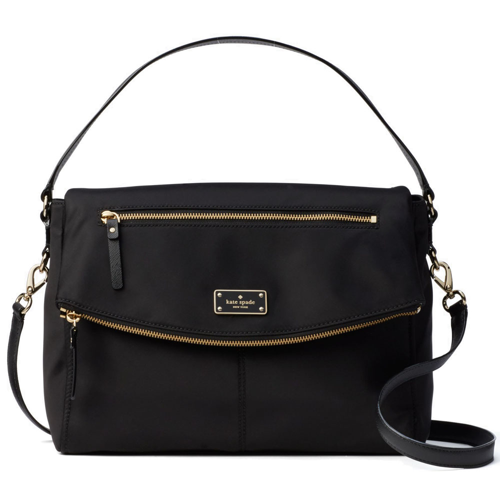 Kate Spade Blake Avenue Lyndon Crossbody Bag Black # WKRU4215