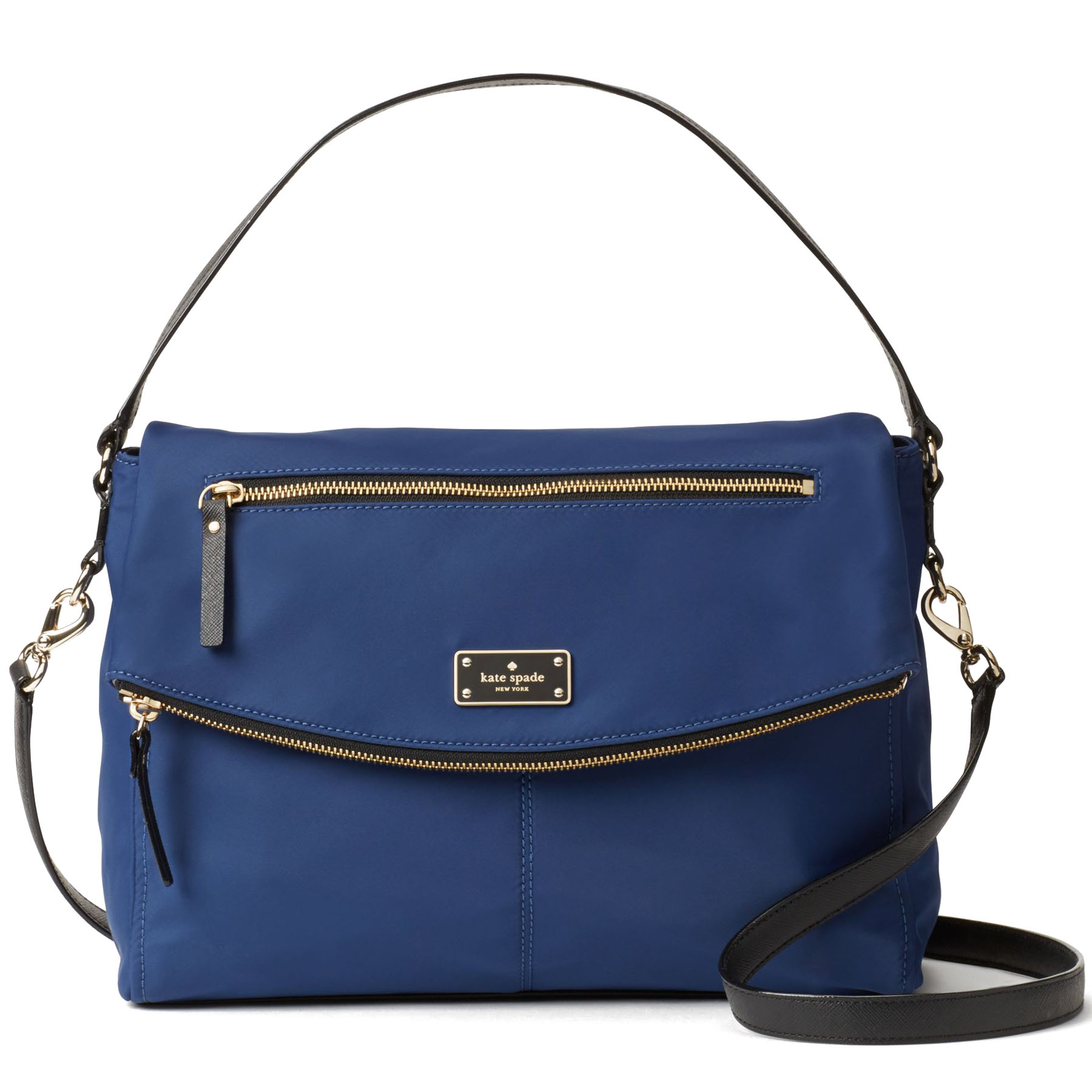 Kate Spade Blake Avenue Lyndon Crossbody Bag Oceanic Blue # WKRU4215