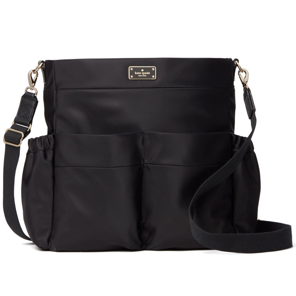 Kate Spade Blake Avenue Nylon Adamson Baby Bag Black # WKRU4214