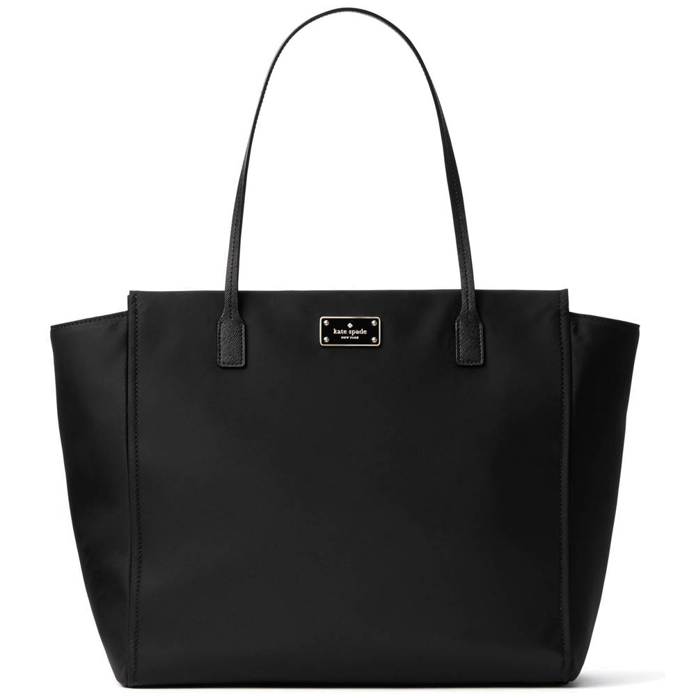 Kate Spade Blake Avenue Taden Tote Shoulder Bag Black # WKRU3526