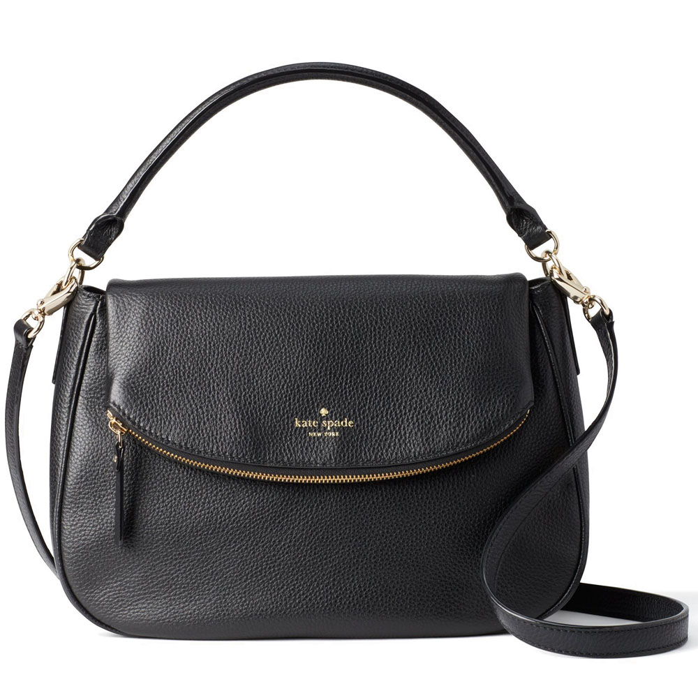 Kate Spade Boerum Place Devin Crossbody Bag Shoulder Bag Black # WKRU4346