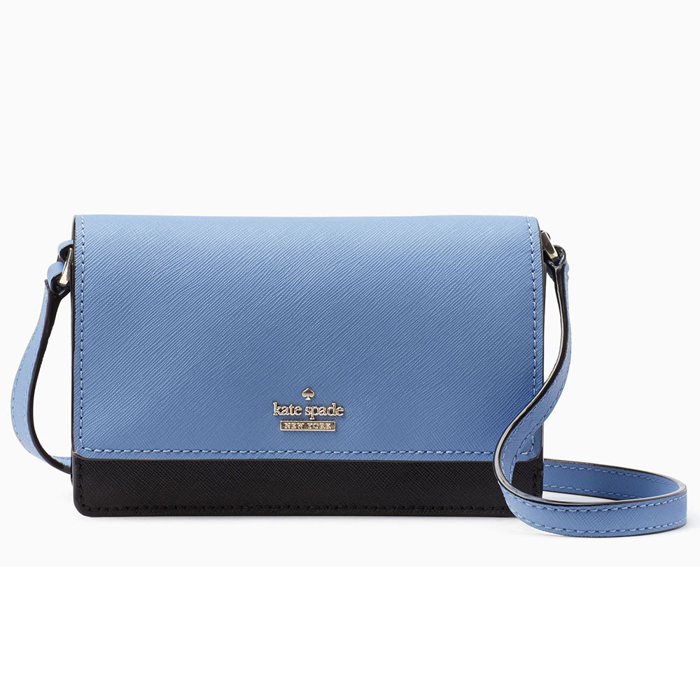 Kate Spade Cameron Street Arielle Crossbody Bag Tile Blue # PWRU5533