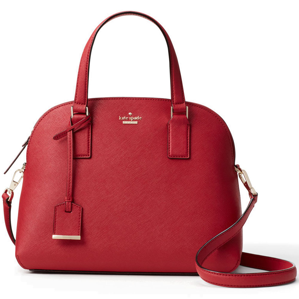 Kate Spade Cameron Street Lottie Crossbody Bag Rosso Red # PXRU8262