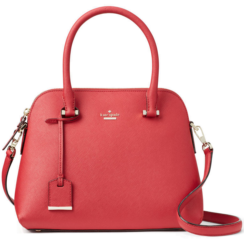 Kate Spade Cameron Street Maise Crossbody Bag Rosso Red # PXRU7673