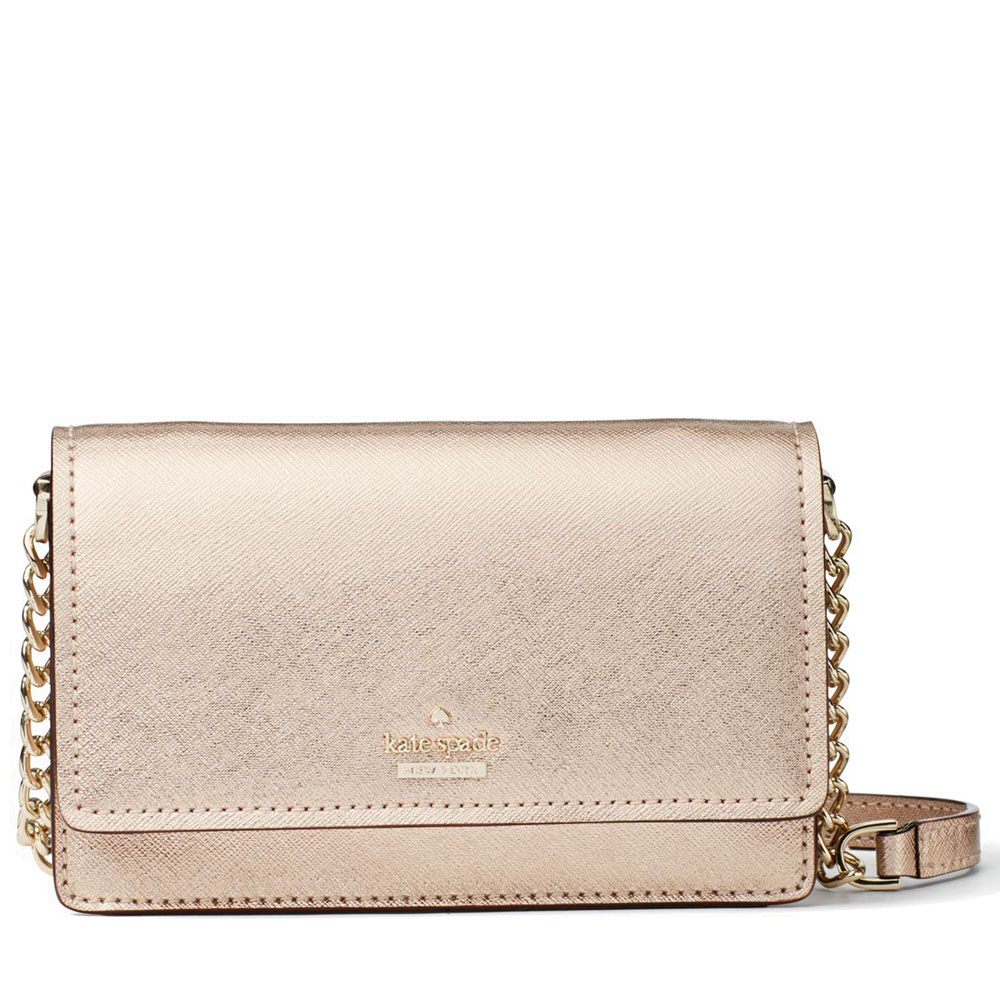 Kate Spade Cameron Street Shreya Crossbody Bag Rose Gold # PWRU6014