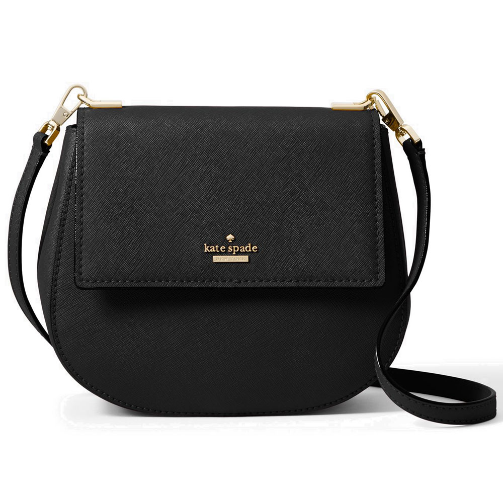Kate Spade Cameron Street Small Byrdie Crossbody Bag Black # PXRU7185