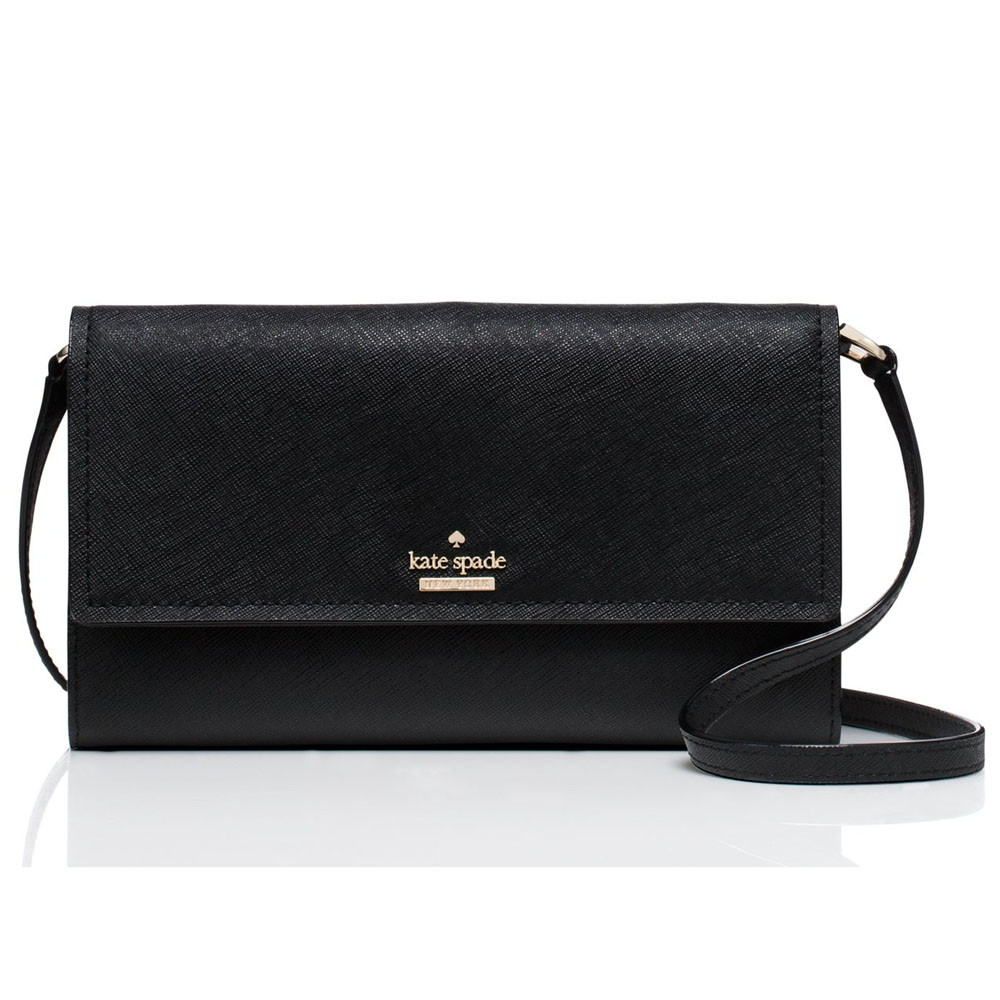 Kate Spade Cameron Street Stormie Crossbody Bag Wallet Black # PWRU5288
