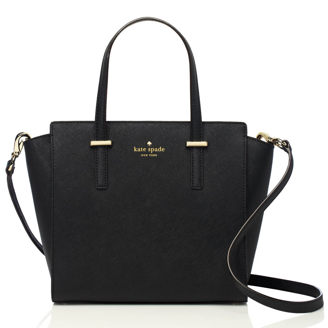 Kate Spade Cedar Street Small Hayden Crossbody Bag Black # PXRU5491