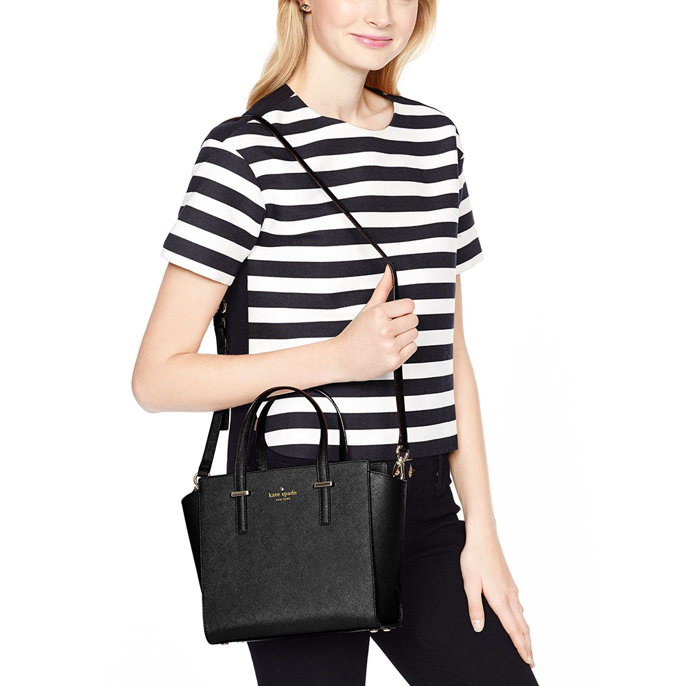 2ea358181 SpreeSuki - Kate Spade Cedar Street Small Hayden Crossbody Bag Black ...