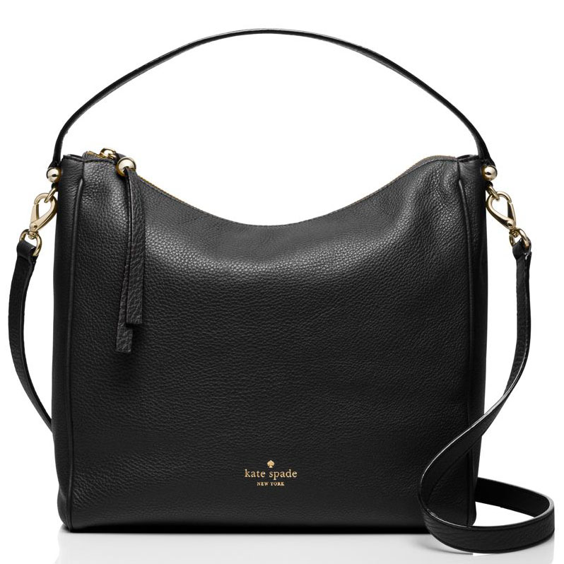 Kate Spade Charles Street Small Haven Crossbody Shoulder Bag Black # WKRU3244