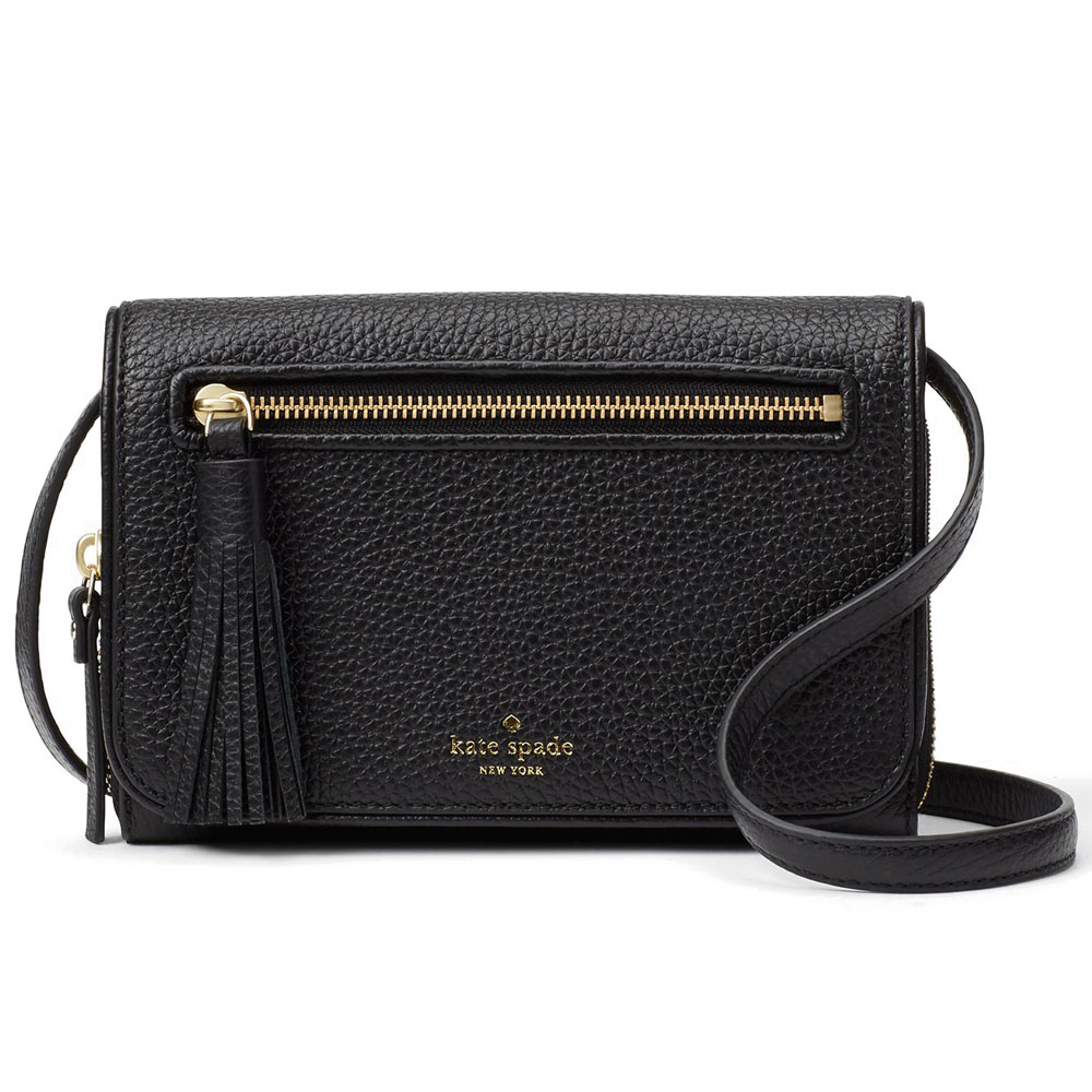 Kate Spade Chester Street Avie Crossbody Bag Black # WKRU4491