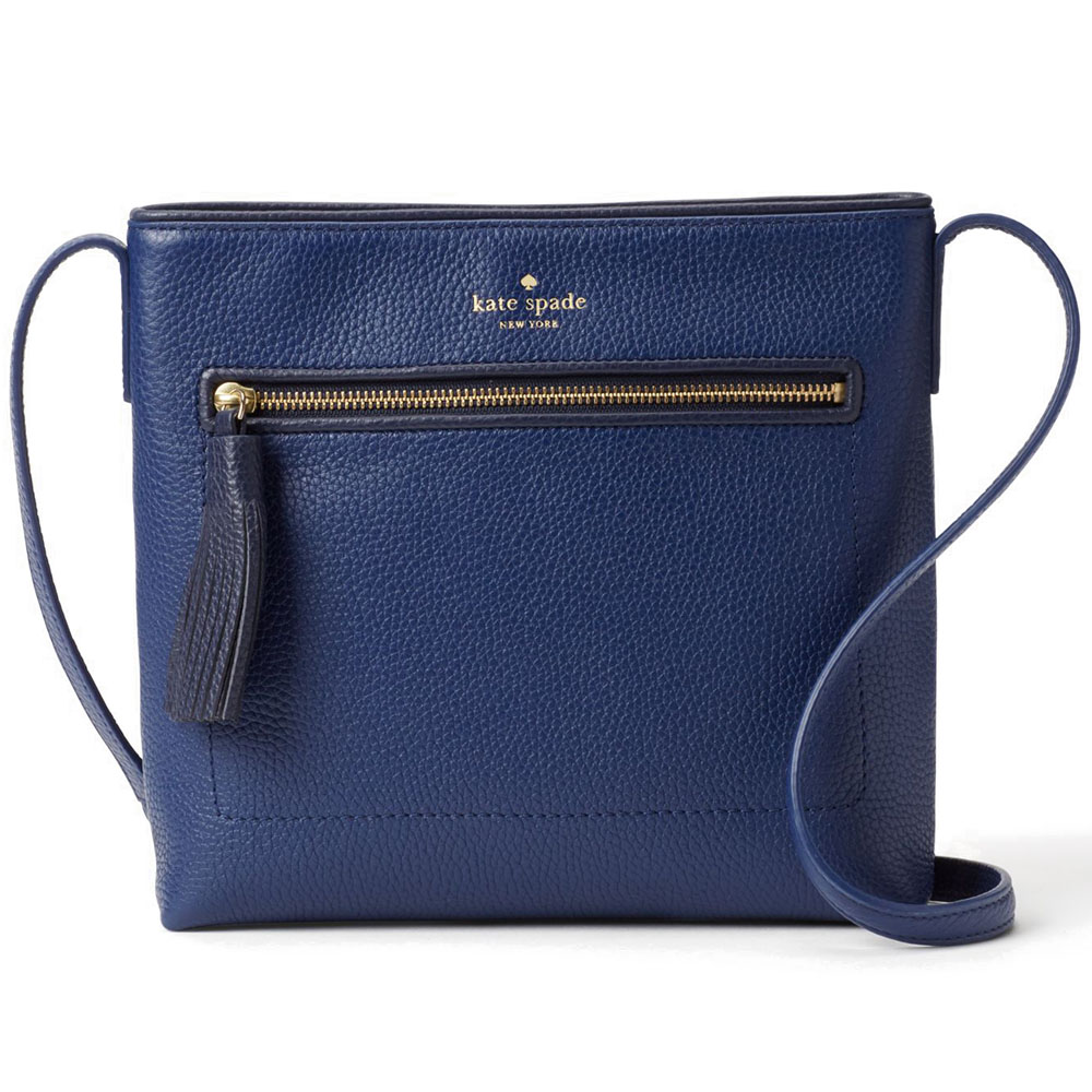 Kate Spade Chester Street Dessi Crossbody Bag Ocean Blue / Offshore # WKRU4073