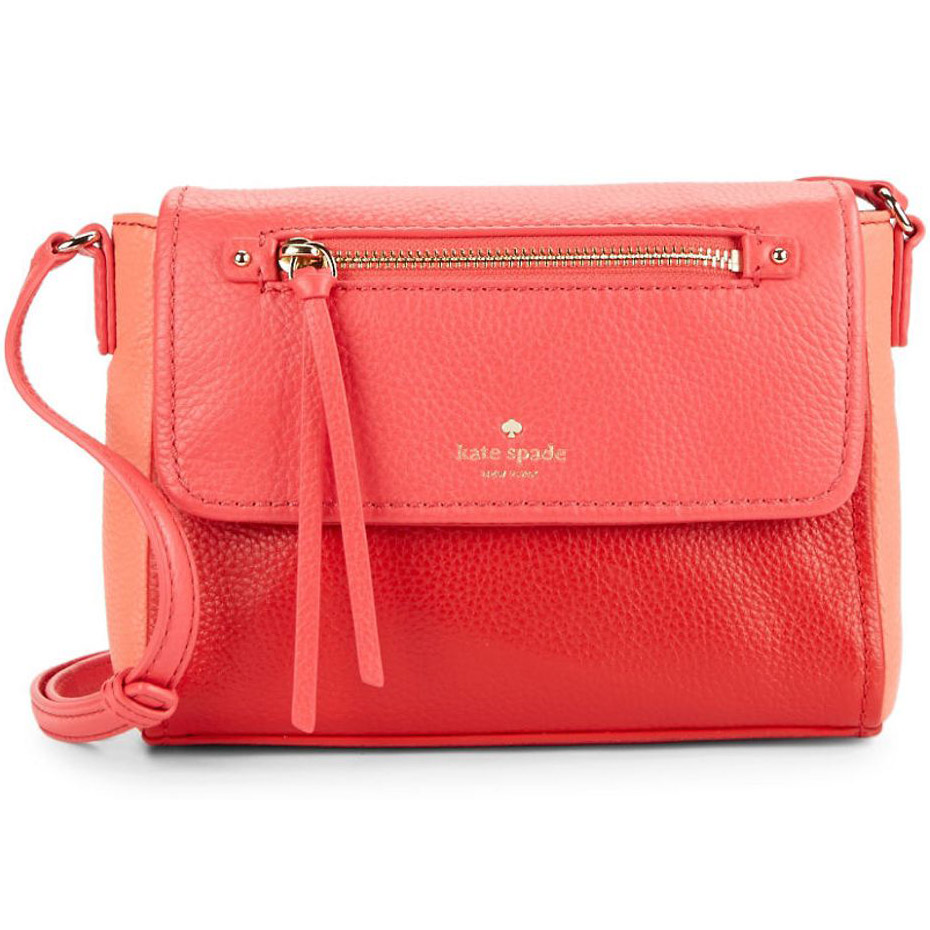 Kate Spade Cobble Hill Mini Toddy Crossbody Bag Crab Red # PWRU4926