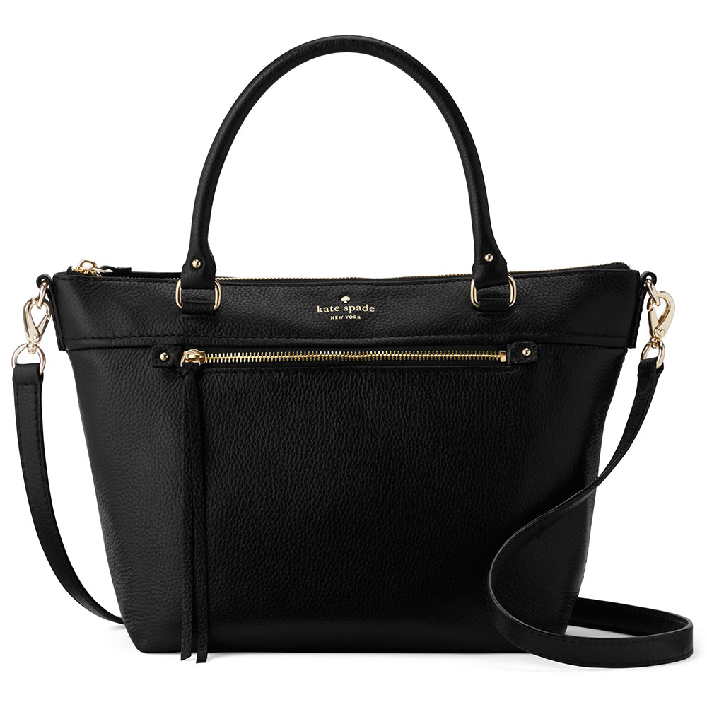 Kate Spade Cobble Hill Small Gina Crossbody Bag Black # PXRU6016