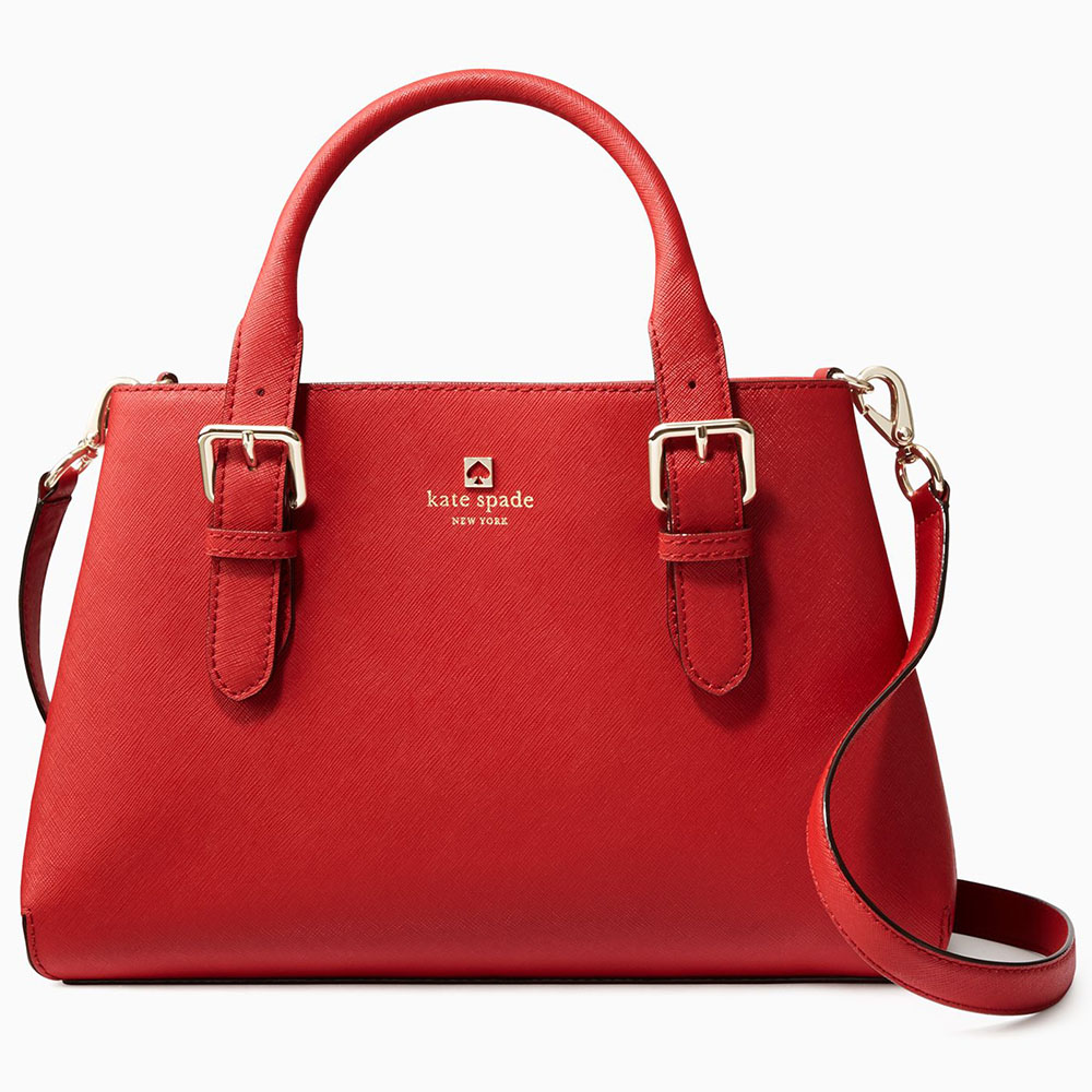 Kate Spade Cove Street Provence Crossbody Bag Pillbox Red # WKRU2790