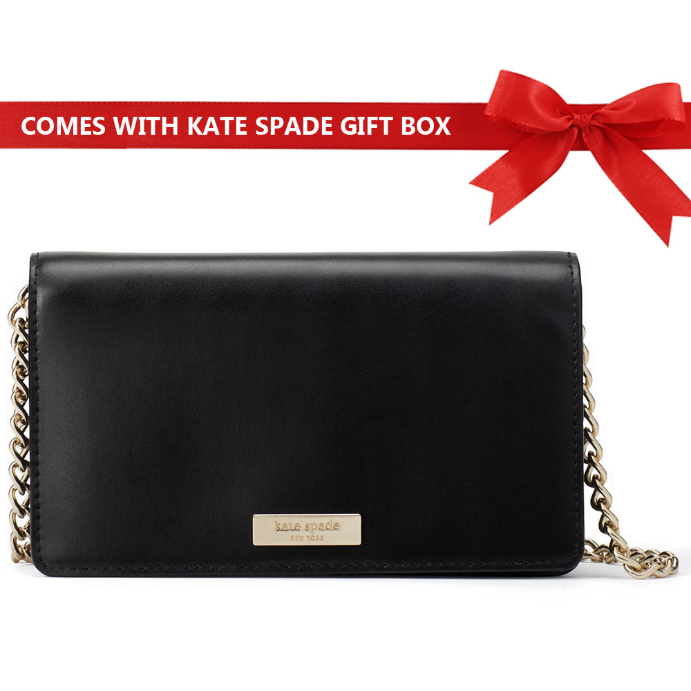 Kate Spade Crossbody Bag Alexander Avenue Smooth Isabeli Black # WKRU5072