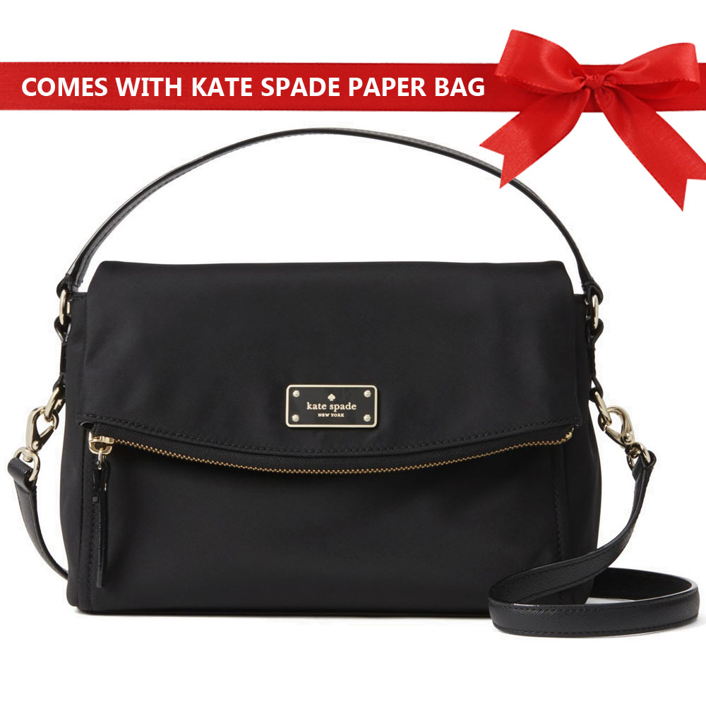 Kate Spade Crossbody Bag Blake Avenue Miri Crossbody Bag Black # WKRU4216