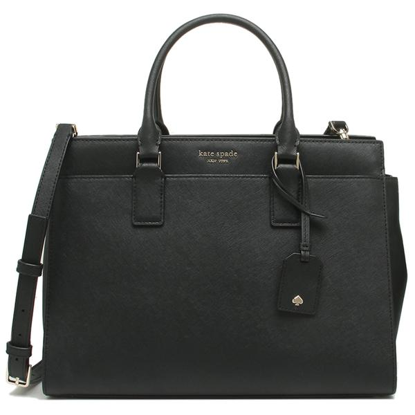 Kate Spade Crossbody Bag Cameron Large Satchel Black # WKRU5849
