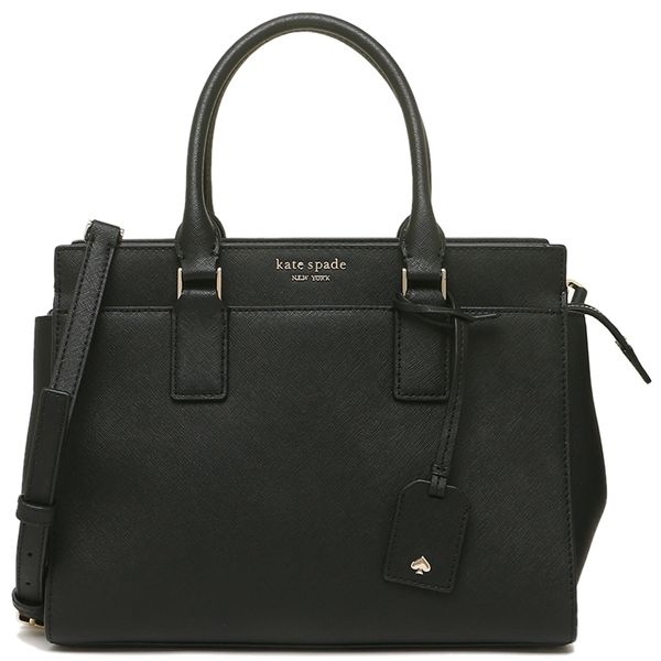 Kate Spade Crossbody Bag Cameron Medium Satchel Black # WKRU5851