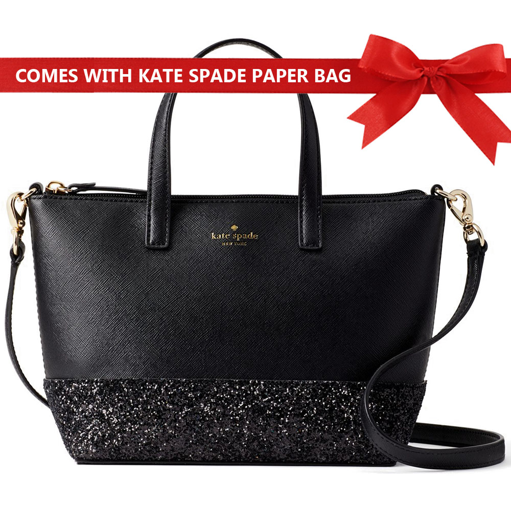 Kate Spade Crossbody Bag Greta Court Ina Black # WKRU5610