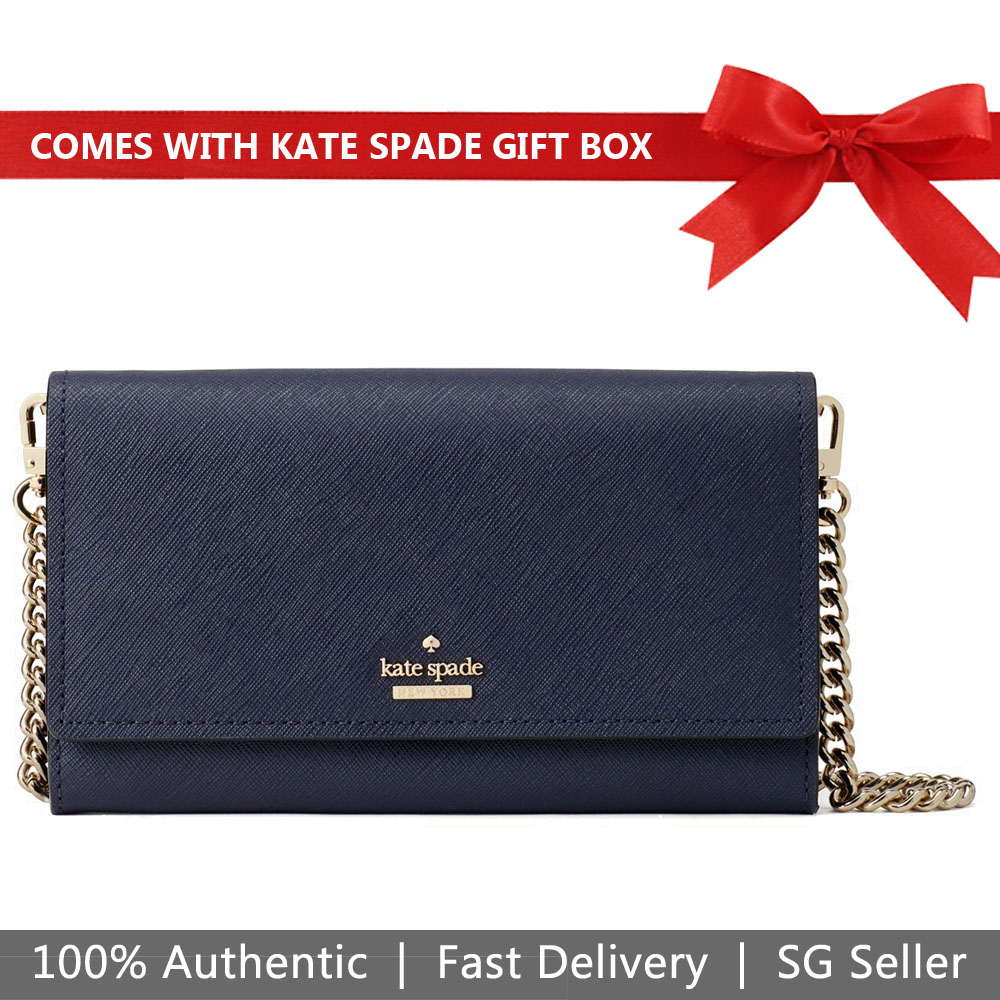 Kate Spade Crossbody Bag In Gift Box Mini Bag Cameron Street Franny Blazer Blue # PWRU7036