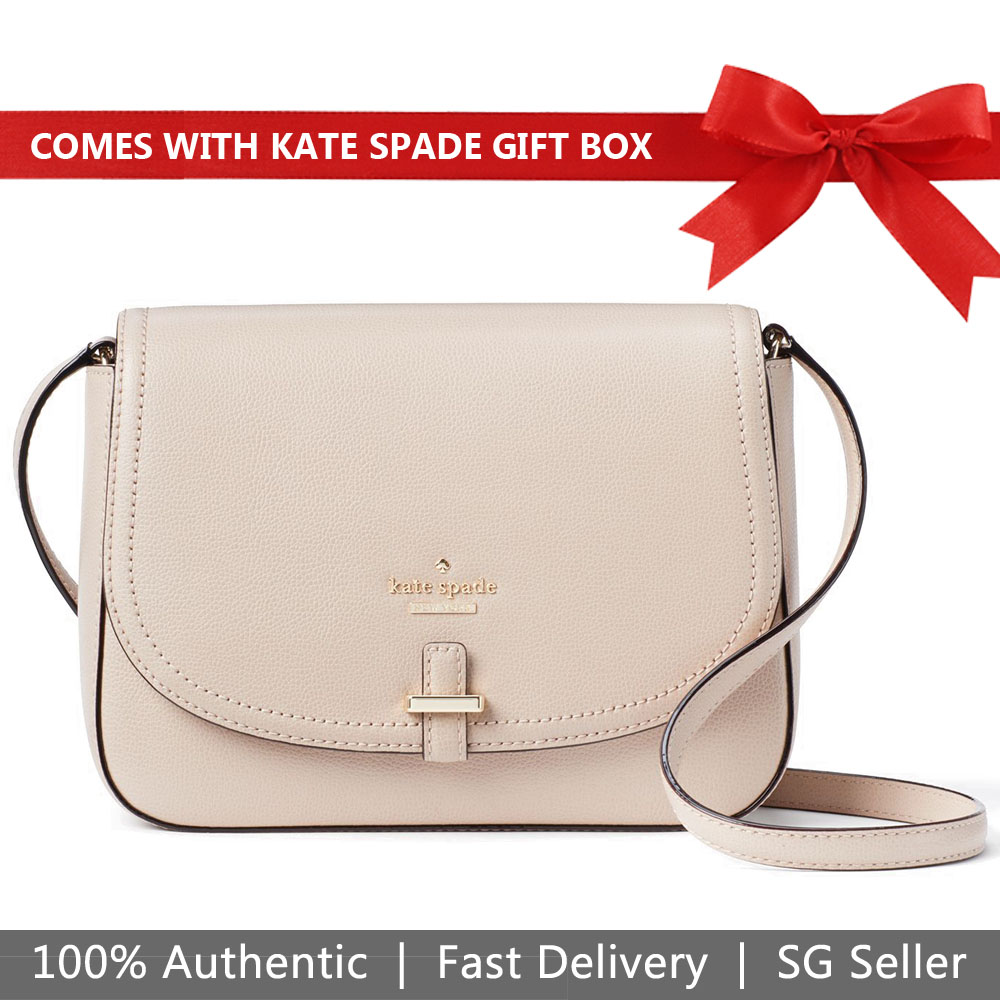 Kate Spade Crossbody Bag In Gift Box Patterson Drive Kailey Rose Cloud # WKRU5193