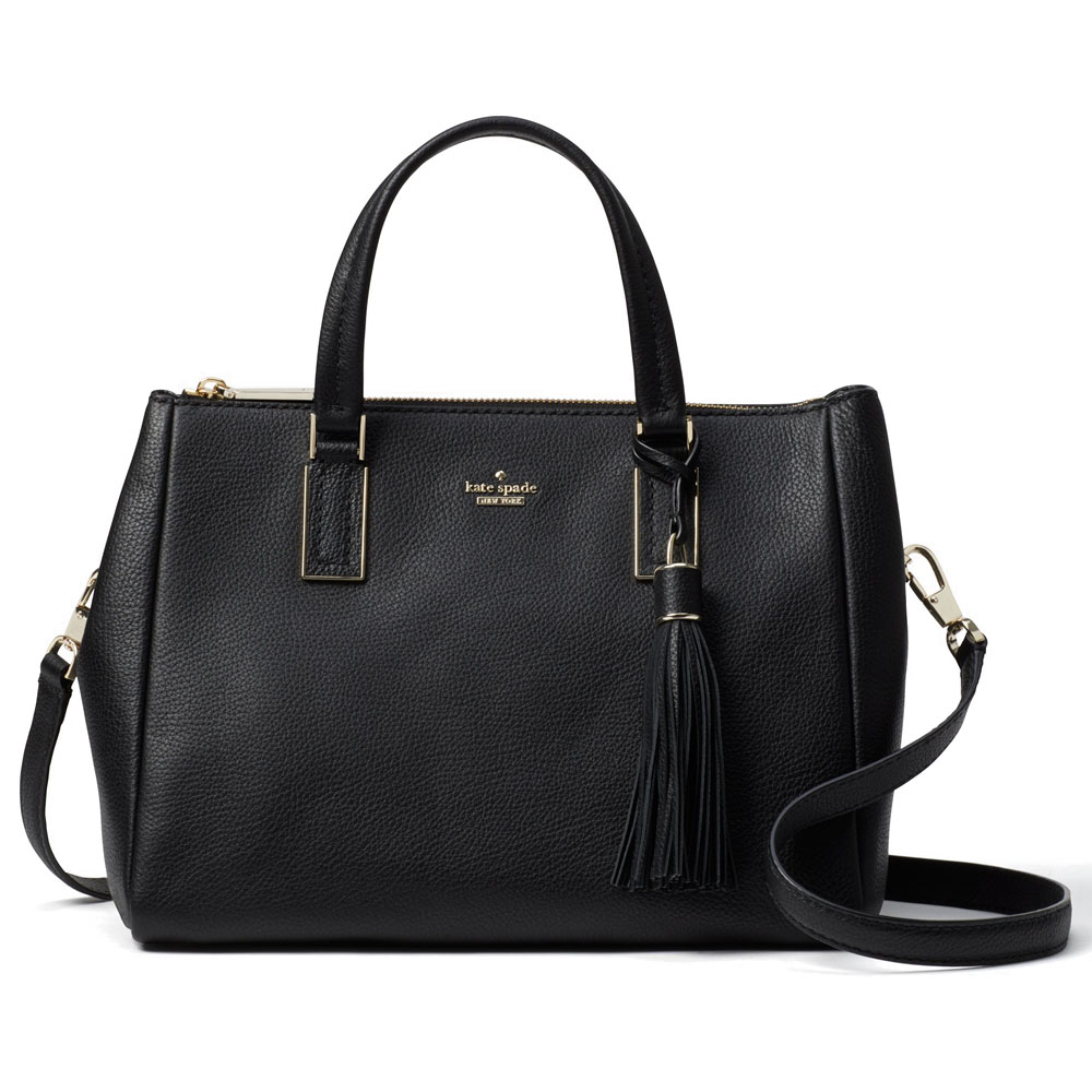 Kate Spade Crossbody Bag Naomi Satchel Black # WKRU5777